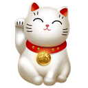 Cat, Clients, maneki neko, icojam, kitty, hello Black icon