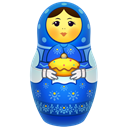 russia, matrioshka, Toy, icojam, matreshka, souvenir, mother Black icon