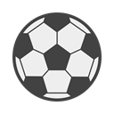 Game, Ball, bola, Goal, estadium, Football, soccer DarkSlateGray icon