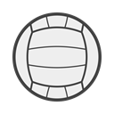 set, Court, volêi, volleyball WhiteSmoke icon