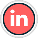 linked, media, In, share, Social Tomato icon