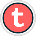 share, Social, media, Tumblr Tomato icon
