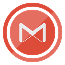 gmail IndianRed icon