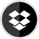 online, media, Logo, Social, dropbox DarkSlateGray icon