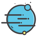 venues, univearse, planet, earth MediumTurquoise icon