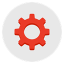 Clog Configuration Setup Gear System Icon