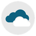 sky, Cloudy, forecast, Cloud, weather Lavender icon