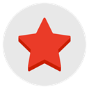 star, review, Favorite, Favourite, rating, rate Lavender icon
