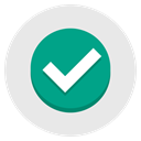tick, approve, Accept, green, yes Lavender icon