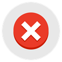 discard, unapprove, remove, x, delete, red Lavender icon