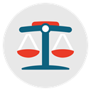 judge, legal, law, Balance, Court, justice Lavender icon