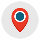 location, Directions, Map, Geography, Gps Lavender icon