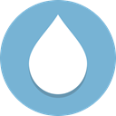 water, drop SkyBlue icon
