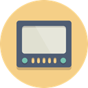 screen, Display, monitor, Tv Khaki icon