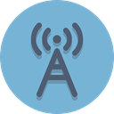 tower, signal SkyBlue icon