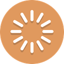 processing, loading SandyBrown icon