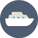 ship, Cruise, vessel, transportation DimGray icon