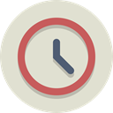 time, Clock, timer Gainsboro icon