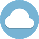 Cloud, weather SkyBlue icon