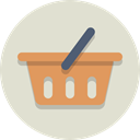 shopping, Basket, Cart Gainsboro icon