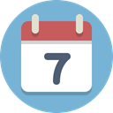event, Calendar, date SkyBlue icon