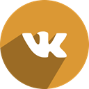 Social, media, Vk, free, network Goldenrod icon