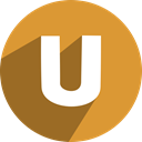 Social, ustream, free, network, media Goldenrod icon