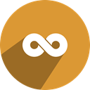 network, free, media, Social, twoo Goldenrod icon