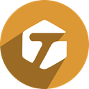 tagged, Social, media, network, free Goldenrod icon