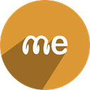 spring, free, network, media, Me, Social Goldenrod icon