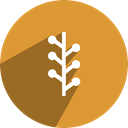 Newsvine, network, News, Tree, Vine Goldenrod icon