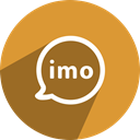 free, network, media, Social, imo Goldenrod icon
