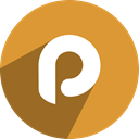 P, Plaxo Goldenrod icon