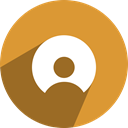 Social, media, network, free, Netlog Goldenrod icon