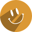 free, media, Friendster, network, Social Goldenrod icon