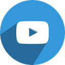 free, play, Social, youtube, media, network, video DodgerBlue icon
