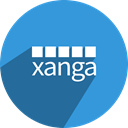 free, media, network, Social, Xanga DodgerBlue icon