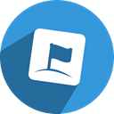 Social, zorpia, network, media, free DodgerBlue icon