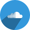 Social, Soundcloud, netwosocial, media, network DodgerBlue icon