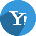 Social, network, free, yahoo, media DodgerBlue icon