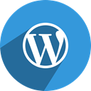 free, media, Wordpress, network, Social DodgerBlue icon