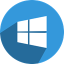 win 8.1, window, win 8, win 10, App, windows, phone DodgerBlue icon