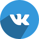 Vk, network, media, Social, free DodgerBlue icon
