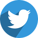 media, network, Social, Letter, bird, twit, twitter DodgerBlue icon
