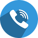 number, Viber, Tel, Social, telephone, media, network DodgerBlue icon