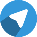 Social, send, network, telegram, Chanal, Chat, media DodgerBlue icon