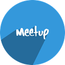 media, free, Meetup, Social, network DodgerBlue icon