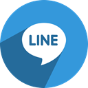 Social, media, network, free, line DodgerBlue icon