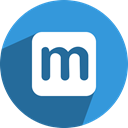 maaii, M DodgerBlue icon