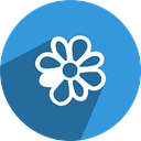 Social, network, media, icq DodgerBlue icon